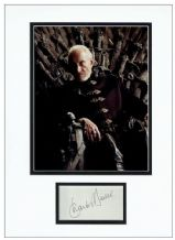 Charles Dance Autograph Signed Display - Game of Thrones